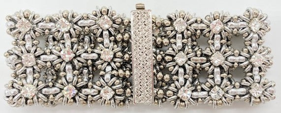 Triple Crown Bracelet beaded by Sharpin Designs
