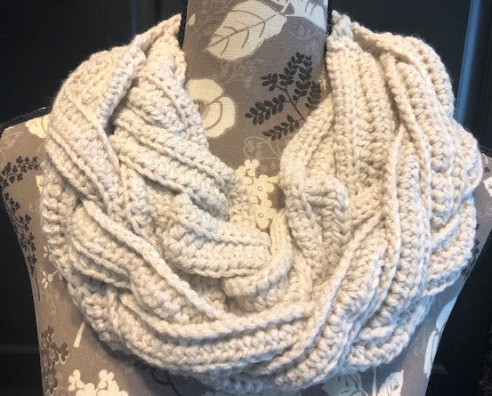Twisted Braids Cowl