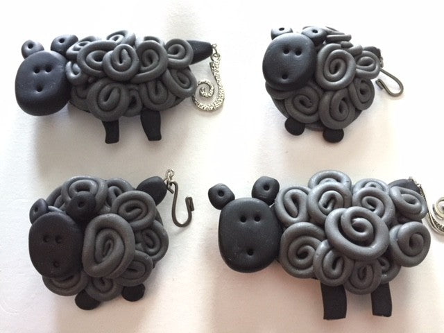 Sharpin Designs Portuguese Knitting Pins Sheep