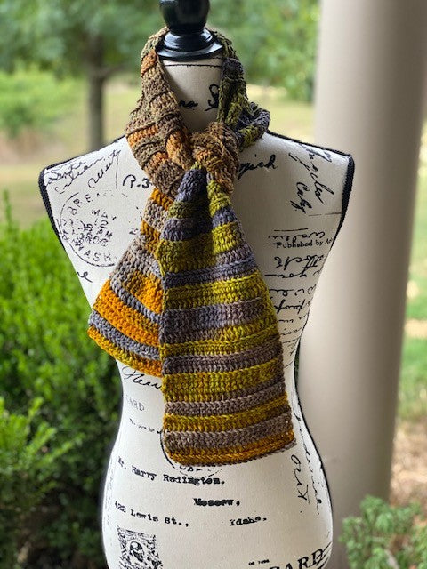 New Pattern: Wrapped in Stitches Scarf