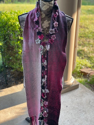 Cherry Blossom Scarf by Sharpin Designs