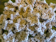 Pile of Crocheted Flowers