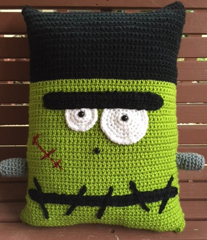 Frankenstein Pillow Pattern by Sharpin Designs