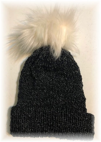 Jeans Knit Hat by Sharpin Designs