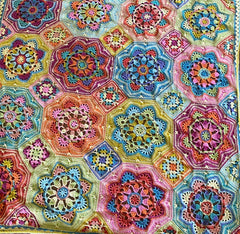 Persian Tiles Easter Jewels crocheted by Care Sharpin