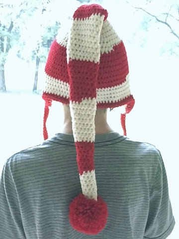 Holiday Head Elf Hat