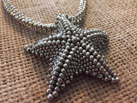 Starfish Beaded Necklace