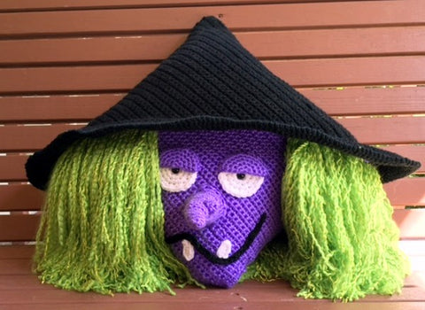 Witch Pillow Pattern by Sharpin Designs