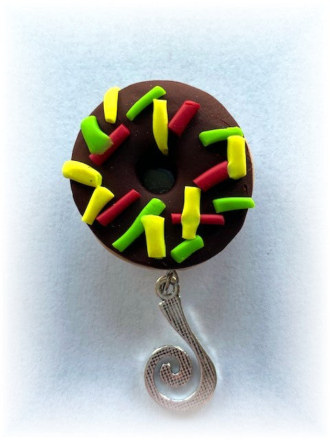 Donut Portuguese Knitting Pin- Magnetic - Made for Portuguese Knitting