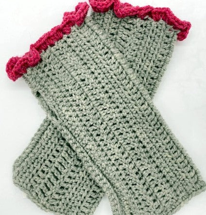 Wrapped in Stitches Fingerless Mitts
