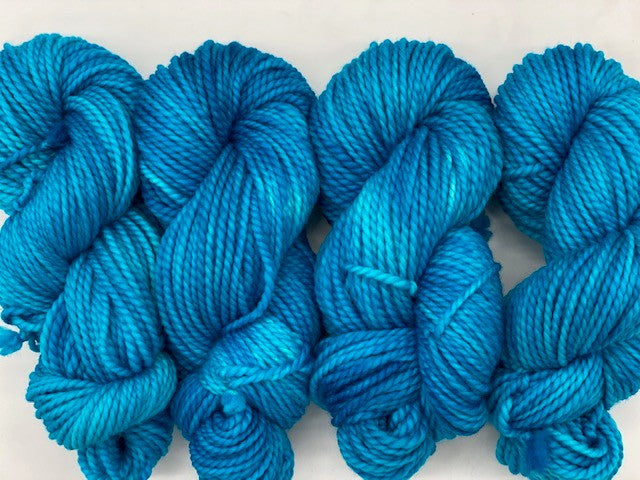 Friday Night Fibers Blue Curraco by Sharpin Designs