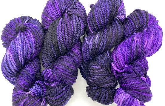 Friday Night Fibers Purple Haze Bulky by Sharpin Designs