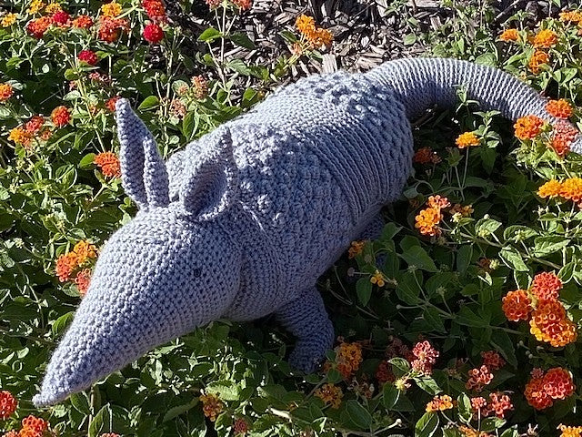 Armadillo Bolster Pillow Crochet Pattern
