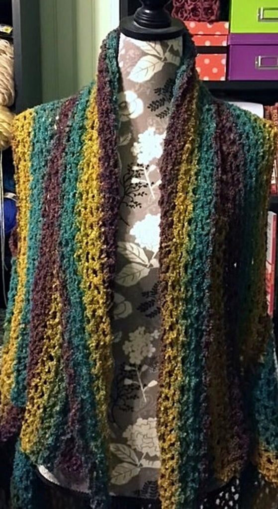 Crochet Vest by Sharpin Designs