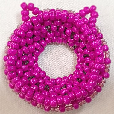 Cat Broach Beading Beadweaving Pattern Tutorial