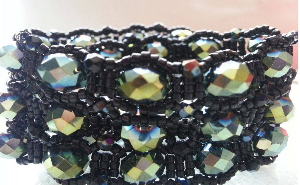 Dress It Up, Dress It Down Beadwoven Bracelet