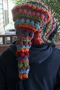 Bohemian Nights Crocheted Hat