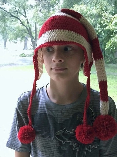 Holiday Head: Elf Hat Crochet Pattern
