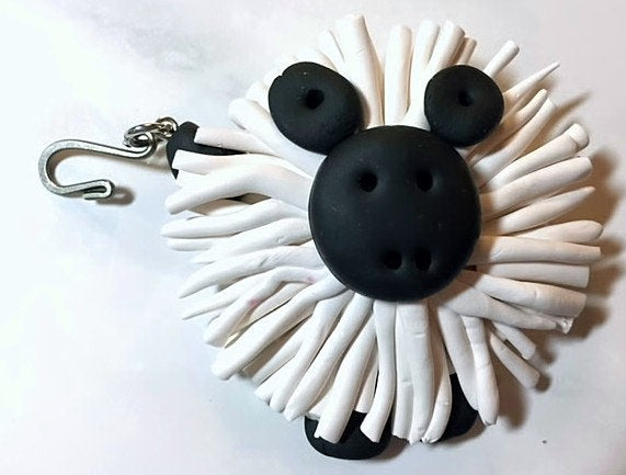 Got Sheep? Portuguese Knitting Pin- Magnetic - Made for Portuguese Knitting - Small Size