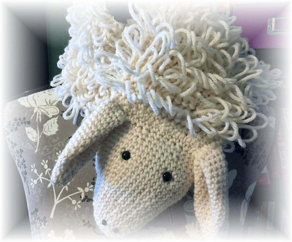 Sheep Scarf Crochet Pattern
