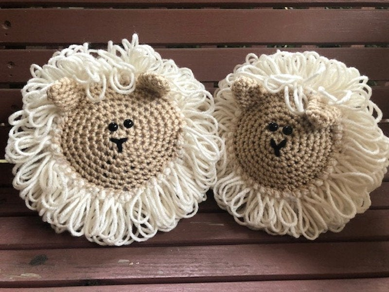 Crochet Sheep Amigurumi Toy Pattern