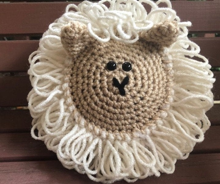 Crochet Sheep Amigurumi Toy