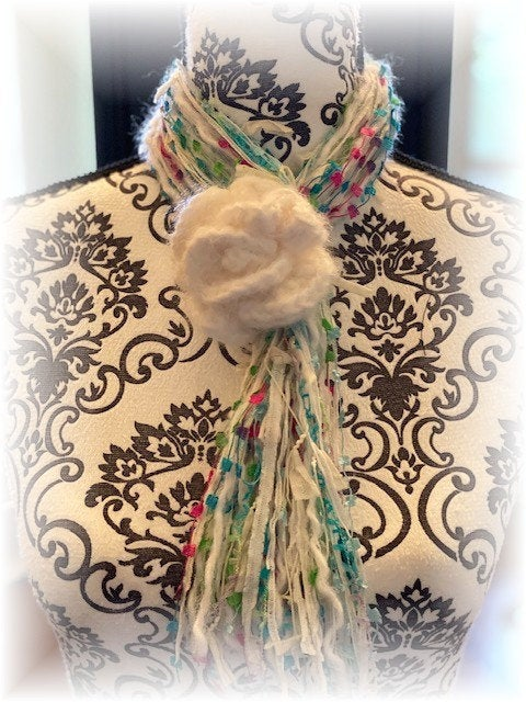 Boho Scarf Necklace