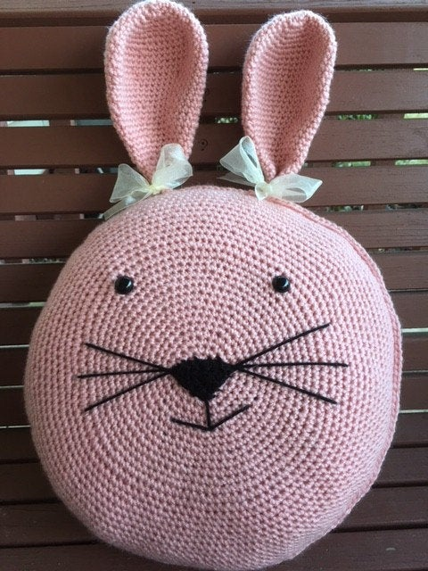 Crochet Bunny Pillow Pattern