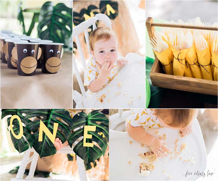 Go Bananas First Birthday Party Idea