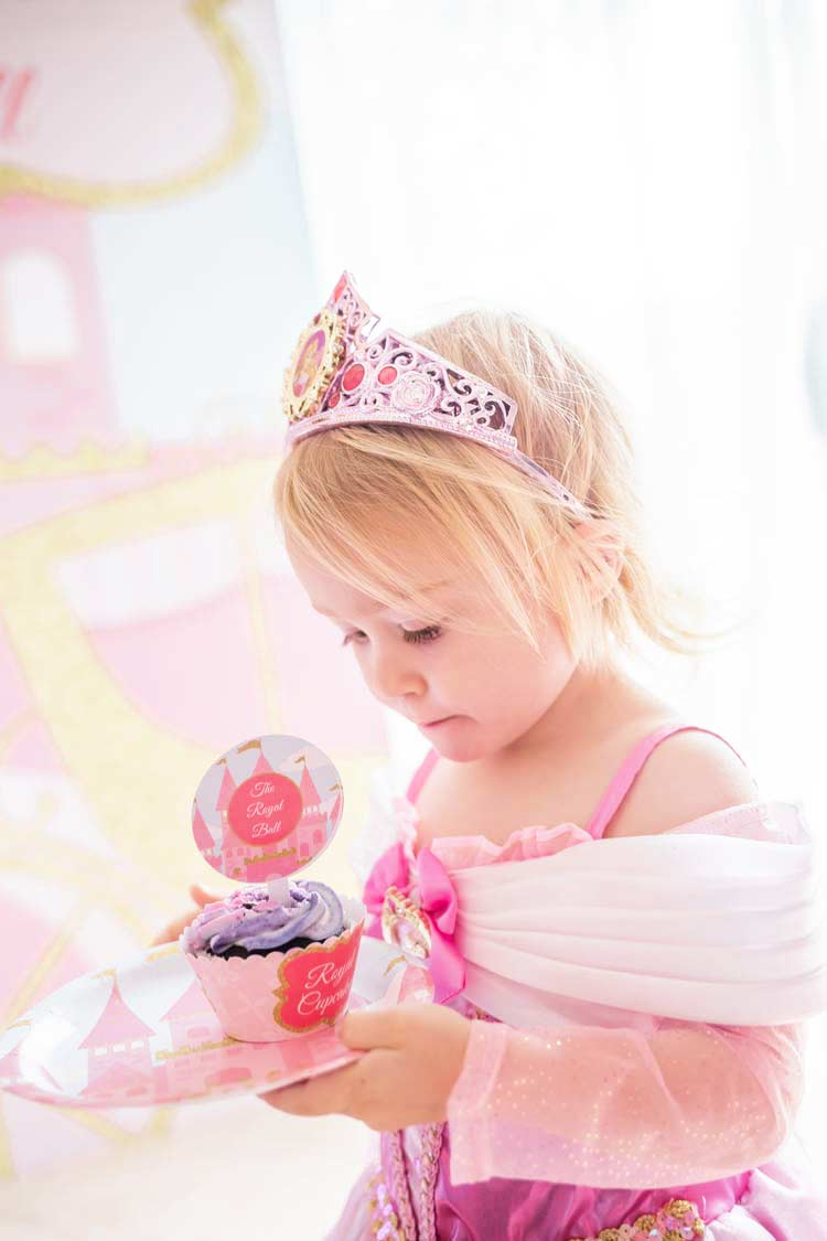 Princess Party with Cupcake