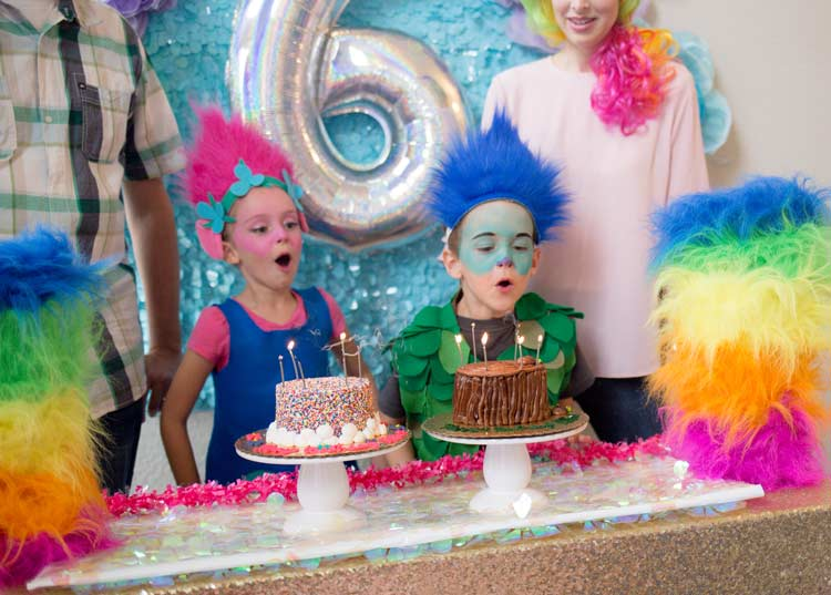 Trolls Birthday Party Idea