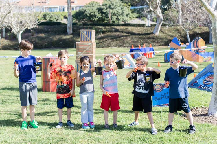 Nerf War Birthday Party Idea