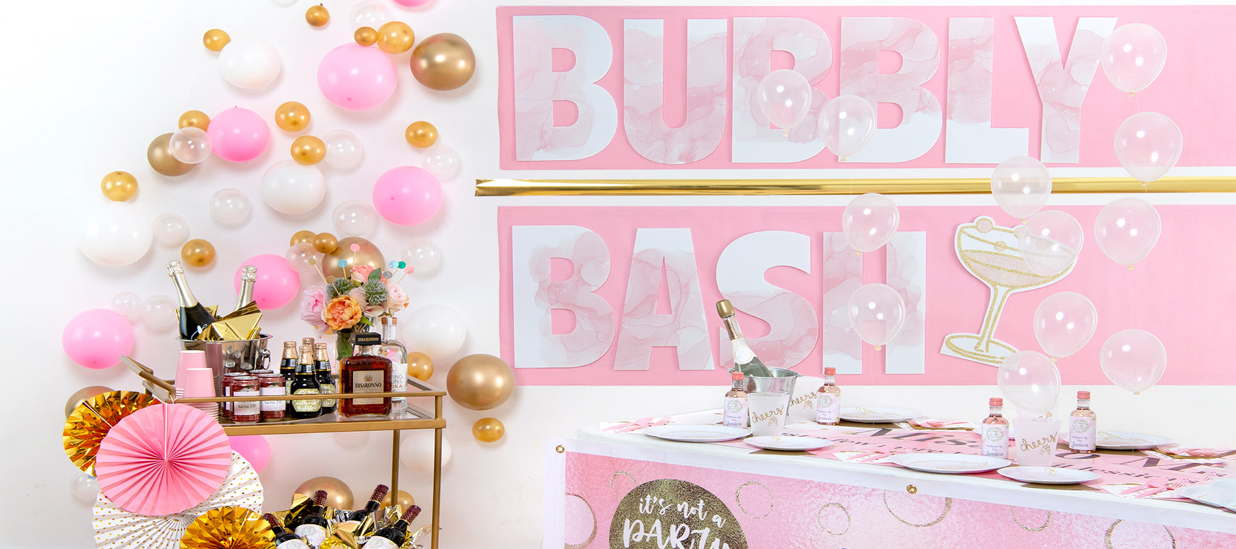 Bubbly Bash Birthday Theme