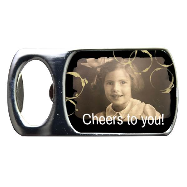 Cheers! Personalized Bottle Opener