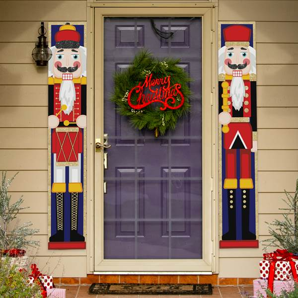 Nutcracker Door Banner Set/2