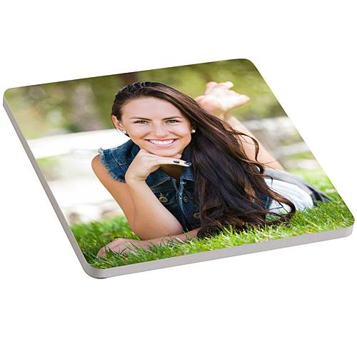 Photo Personalized Ceramic Coaster, Each