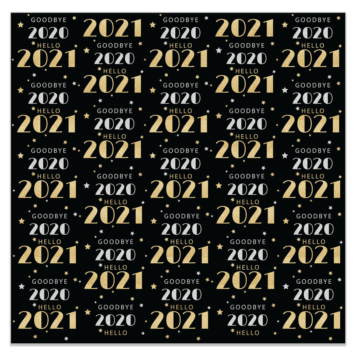 New Year's Large Photo Background