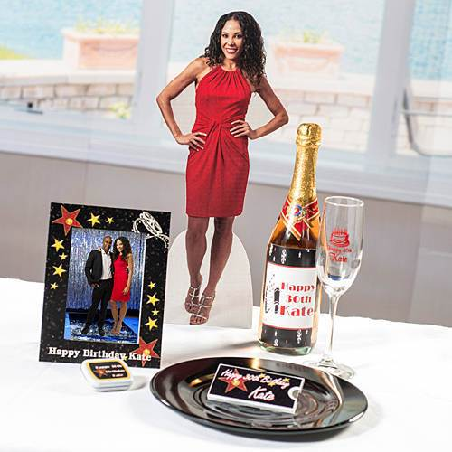 Adult Birthday Tabletop Photo Standee, 18""