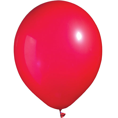 11 LATEX BALLOONS BRIGHT-TONE RED      PKG/12    ""