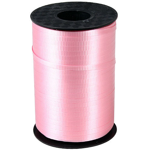 Pink Decorating Curling Ribbon, roll, 500 yds
