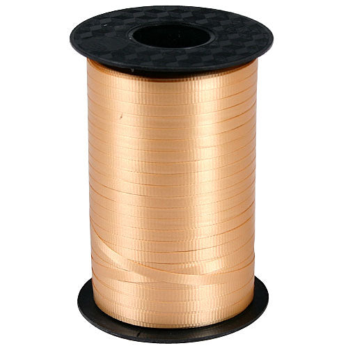 Gold Decorating Curling Ribbon, roll, 500 yds