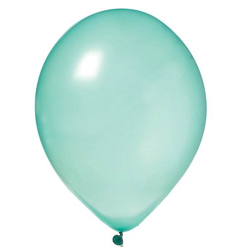 Green Pearl Latex Balloons-PKG/100, 11""