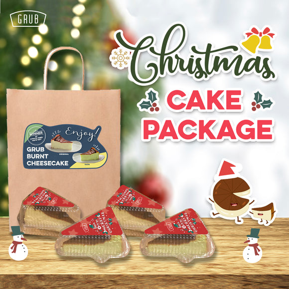 Christmas Cheesecake Package