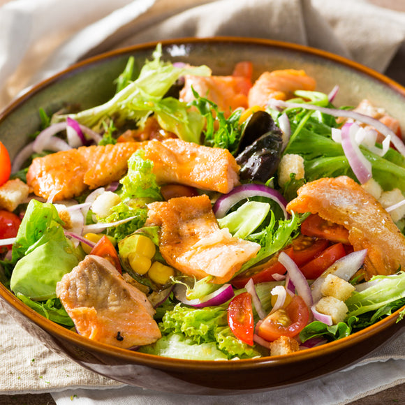 Norwegian Salmon Salad