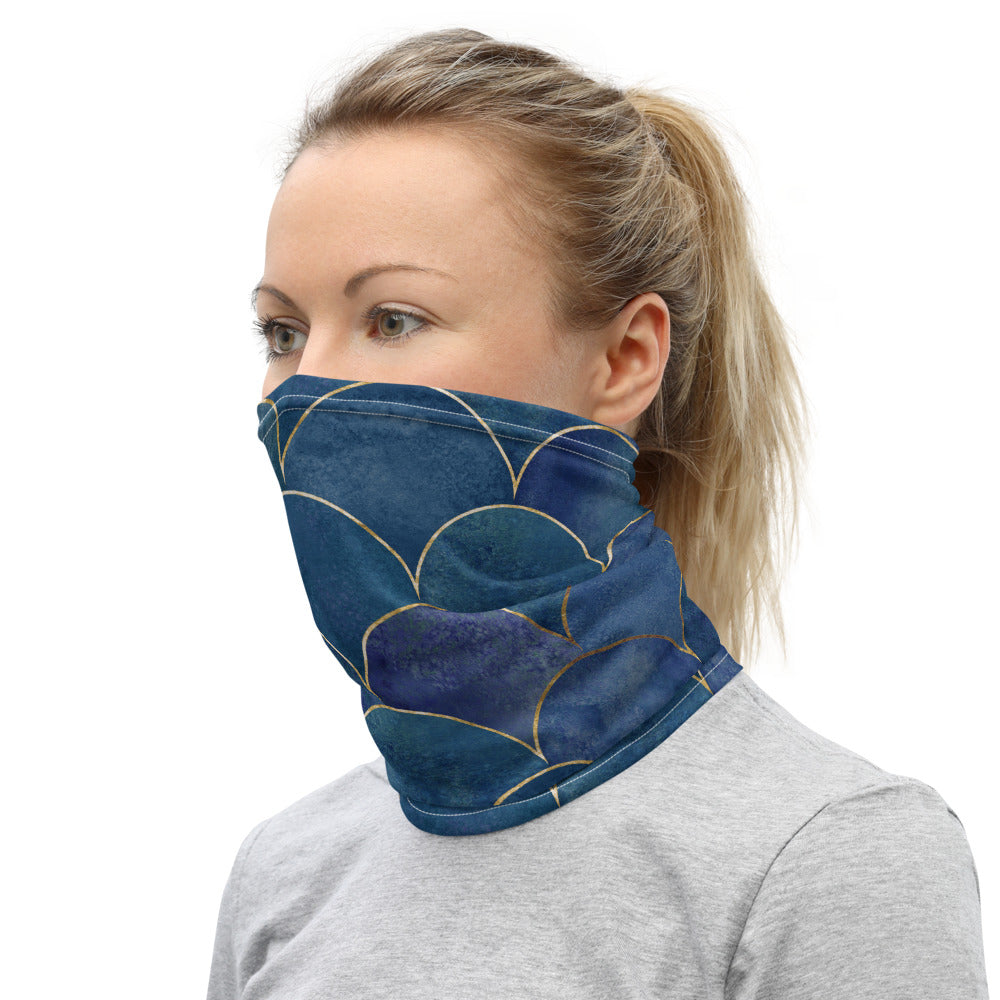 Blue Mermaid Neck Gaiter - Rerouge