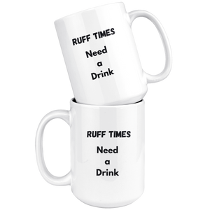 Ruff Time Mug - Rerouge