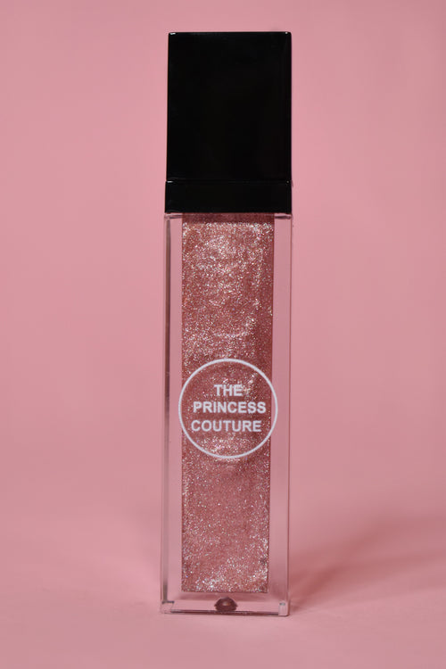sparkly lip gloss