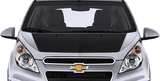 Chevy Spark 2012 Main Hood Decal on Vehicle