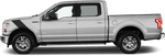 Ford F-150 2015 Le Mans Fender Stripes on Vehicle