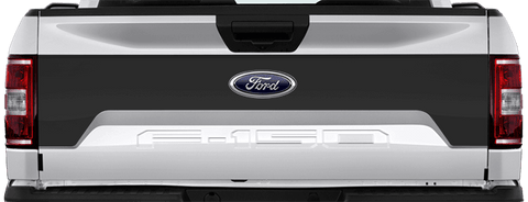Ford F-150 2015 Tailgate Mid Blackout on Vehicle